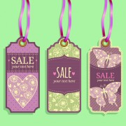 Link toVintage sale tags creative design set 03
