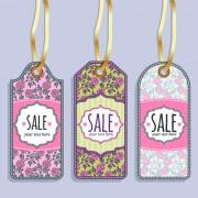 Link toVintage sale tags creative design set 05