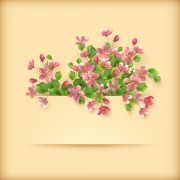 Link toVector set of spring flower cards design 05