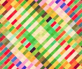Blurred mosaic colored background art vector 02