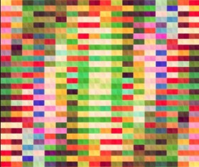 Blurred mosaic colored background art vector 03