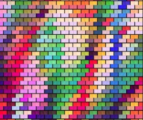 Blurred mosaic colored background art vector 04