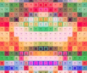 Blurred mosaic colored background art vector 05