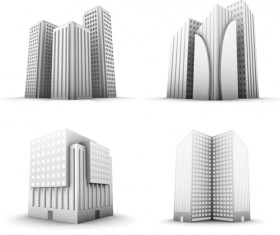 Skyscraper creative design elements vector 02
