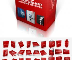50 Kind cover box Photoshop Actions