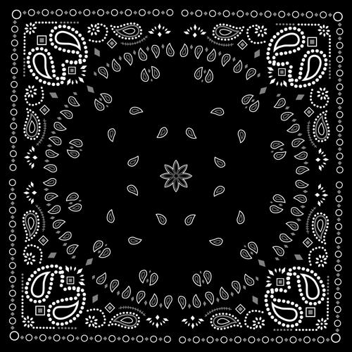 gallery white and black bandana