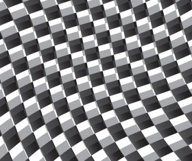 Black and white checkered background vector 04