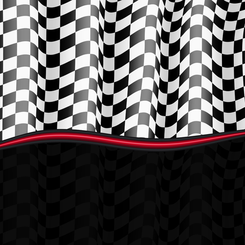 Black and white checkered background vector 05 free download