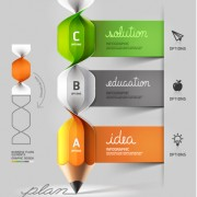 Link toBusiness infographic creative design 1141