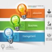 Link toBusiness infographic creative design 1144