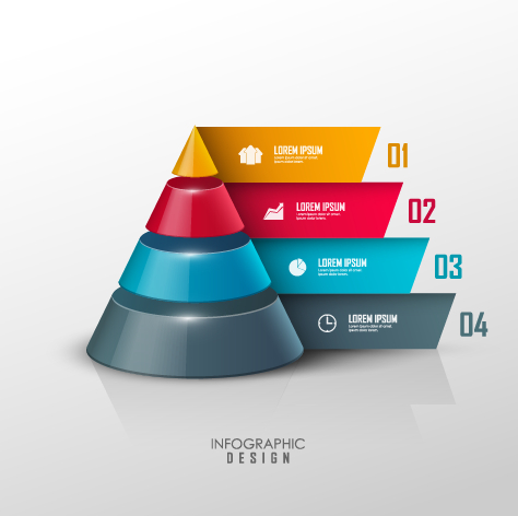 Infographic Ideas 3d paper infographic powerpoint template free download : Business Infographic creative design 1172 - Vector Business free ...