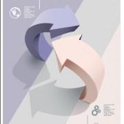 Link toBusiness flyer and brochure arrow cover vector 03