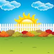 Link toCartoon summer sun vector background 03