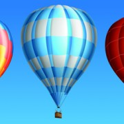 Link toCreative colorful hot air balloons vector material 01
