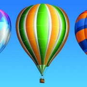 Link toCreative colorful hot air balloons vector material 02