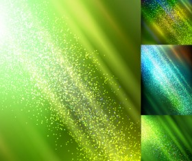 Colorful sun ray background vector 02