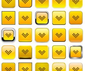 Creative arrows icons vectors pack set 03