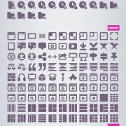 Creative cosmo mini free icons set