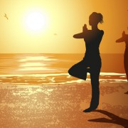 Link toCreative yoga and sunset vector 04