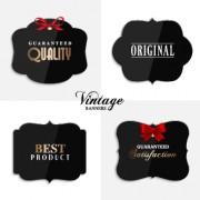 Link toCute vintage labels cards vector graphics 03