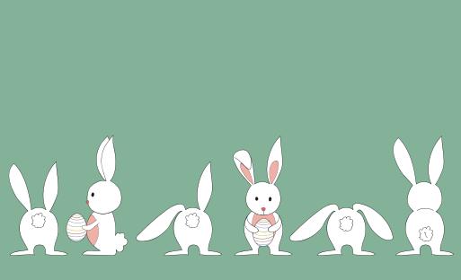 Cute white rabbit vector material over millions vectors stock cute white rabbit vector material toneelgroepblik Gallery