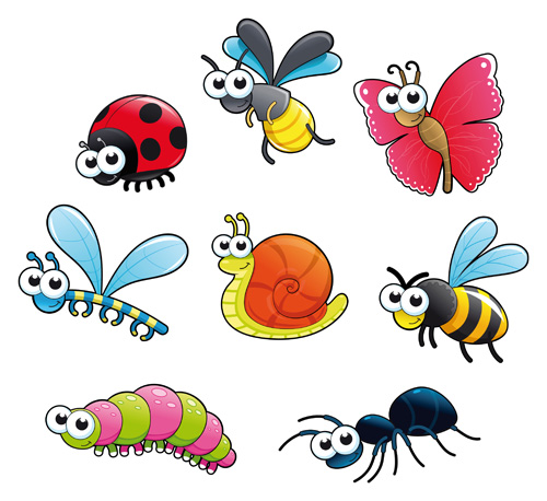 cartoon insect clipart - photo #43