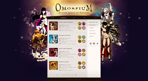 Electronic game websites psd template – Over millions vectors, stock ...