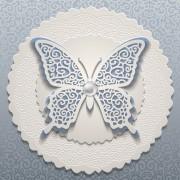 Link toElegant butterflies vintage card vector material 03