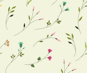 Elegant floral pattern vector material set 01