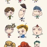Link toFunny doodle kids vector graphics