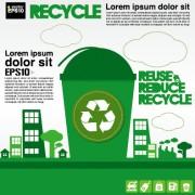 Link toGreen ecology city concept design vector 03