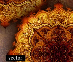 Luxury floral book cover design vector 04