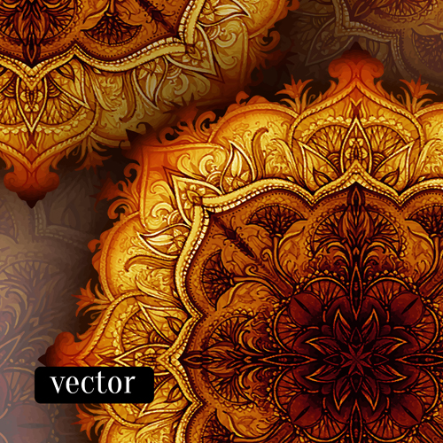 Islamic Book Cover Design Vector ~ Luxury floral book cover design vector free download