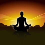 Meditation design elements vector graphics 01