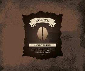 Modern restaurant menu design graphic set 02