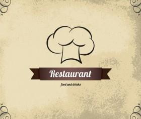 Modern restaurant menu design graphic set 03