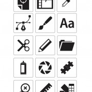 Link toOffice icons design vector