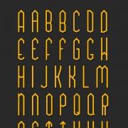 Link toOrigami art fonts