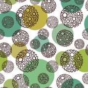 Link toRound abstract pattern vector graphics