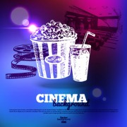 Link toShiny cinema neon light vector background 01