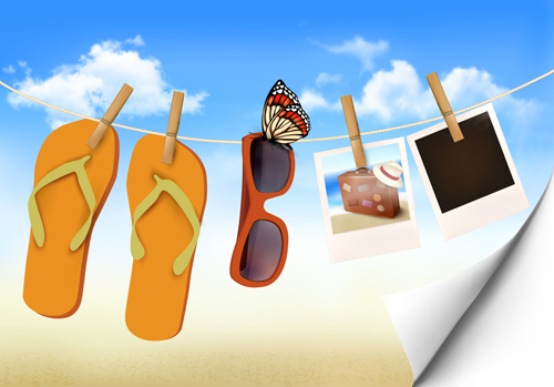Summer beach vacation background art vector 02 over millions summer beach vacation background art vector 02 toneelgroepblik Choice Image