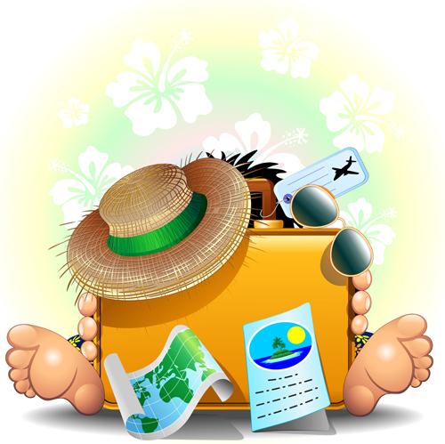 http://freedesignfile.com/upload/2014/04/Summer-travel-with-holiday-background-art-vector-03.jpg