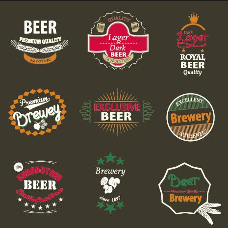 Vintage royal beer labels with badges vector 02 over millions vintage royal beer labels with badges vector 02 toneelgroepblik Choice Image
