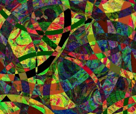 Abstract colored grunge pattern vector graphics 02