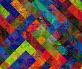 Abstract colored grunge pattern vector graphics 04