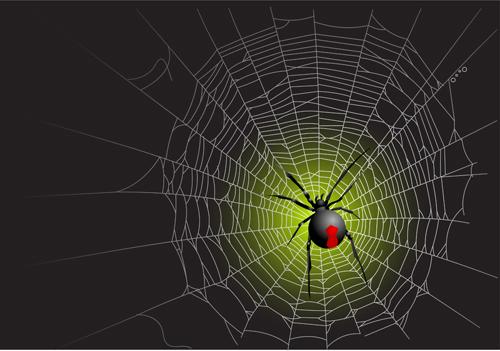 vector spider web design background graphics 05 free download