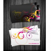Link toBeautiful floral business cards vectors