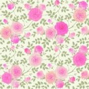 Link toBeautiful pink rose seamless pattern vector