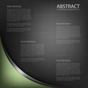 Link toBlack style business template background 03