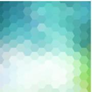 Bokeh honeycomb vector background